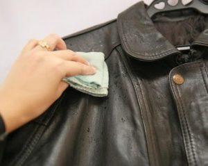 cara mencuci jaket kulit domba
